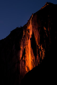 2016 Horsetail Fall Firefall in Yosemite National Park
