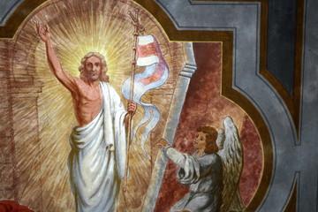 Christus ist auferstanden, Deckengemälde
