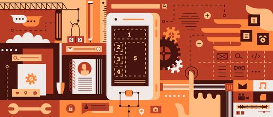 App design for mobile phone