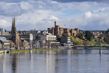 Beautiful Inverness cityscape
