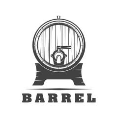 Wooden barrel signs