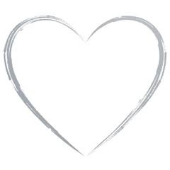 Silbernes Herz
