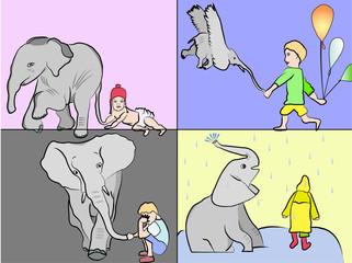 Elephant in me