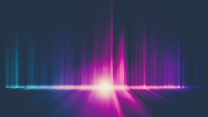 Dark abstract Aurora Wallpaper background Fototapete
