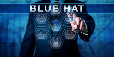 Blue Chip Software Engineer Pressing BLUE HAT