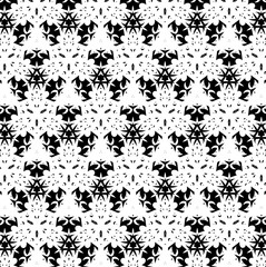 Black and white ornament. F