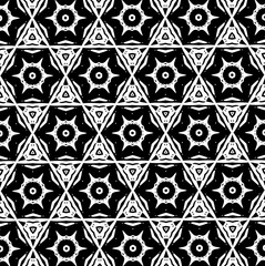 Ornament with elements of black and white colors. 22