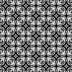 Ornament with elements of black and white colors. 11