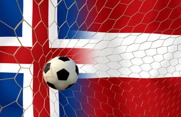 Soccer Euro 2016 ( Football ) Island and Austria