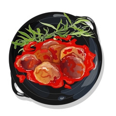 meatball in tomato sauce