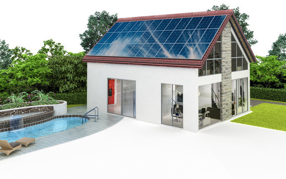 Familiy house with swimming pool