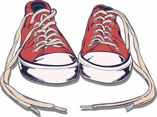 sepatu sport pria keren