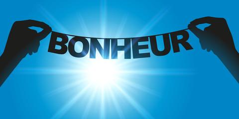 Bonheur - Mot