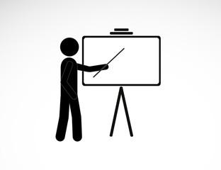 Business Training Icon. EPS10.