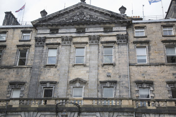 City Chambers on Royal Mile Street; Edinburgh