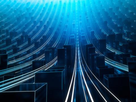 Daten Server Stadt Infrastruktur 2