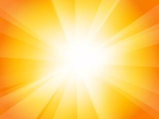 yellow orange sunburst background