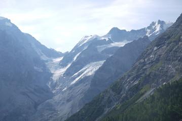Foto op Plexiglas Panoramafoto s Passo dello Stelvio