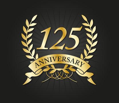 125 years anniversary