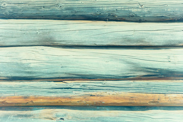 Soft blue wooden plank background