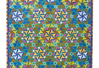 Ornamental Moroccan tile