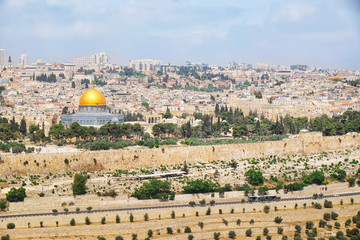 View of Jerusalem city, Israel