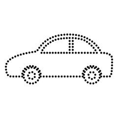 Car sign illustration