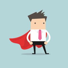 Super Businessman. vector