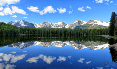 Bierstadt Lake Reflection