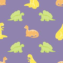 Dinosaurs. Seamless background