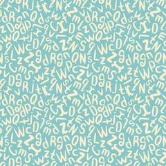 Abc pattern. Alphabet background.Seamless pattern. School background.