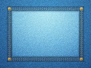 denim frame