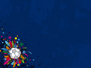 Football doodles ornament background. Soccer bright sketches. European football theme sport wallpaper. Football championship. Football ball. Grunge. Soccer background. Football background.