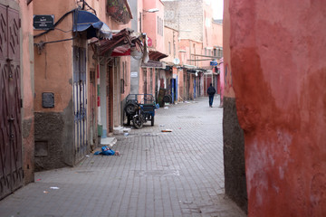 The characteristic streets in the cities' Oriental