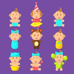 Babies An Toddles Sticker Set