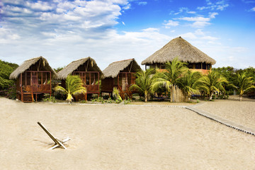 Exotic beach house at the beach in Nicaragua, CA