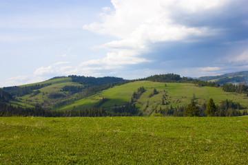 Canvas Prints Hill Hills in western Ukraine
