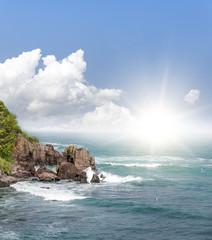 Beautiful seascape image.