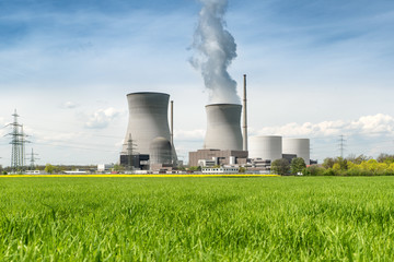 Nuclear power Energy concept - Nuclear power plant