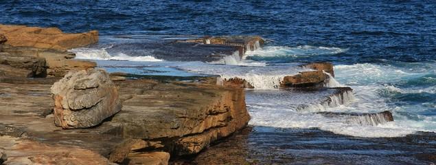 Scene at Maroubra Beach, Sydney