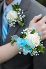 Formal Prom Wedding Corsage Flowers Boy and Girl