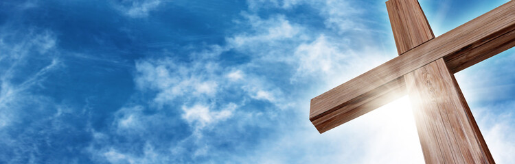 Glorious Wooden Cross