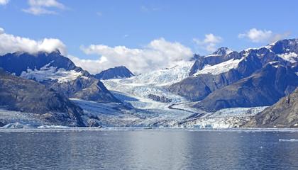 Printed kitchen splashbacks Glaciers Maze of Glaciers Leading to the Sea