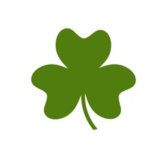 Vector of  leaf clover . St Patricks day. Logo for food / trade / traditions / fashion. Other companies. Vector illustration.