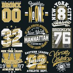 New York t-shirt graphics