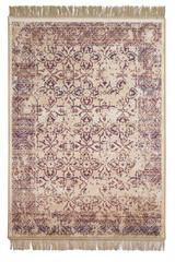 Beautiful carpet isolated on white background