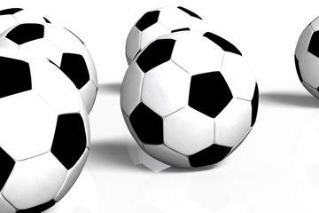 Football Background 3D rendering