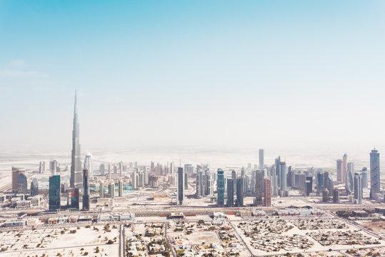 Dubai Skyline with Burj Khalifa