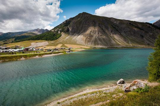 Lago di Livigno in Italy