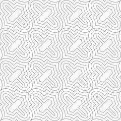 Slim gray diagonal Marrakesh grid